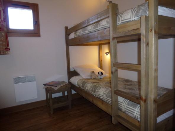 CA4 - Chambre lits superposés