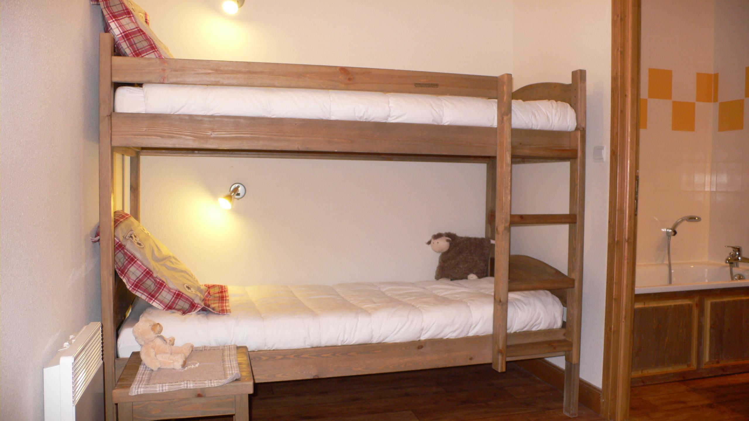 CA15 - Chambre lits superposés