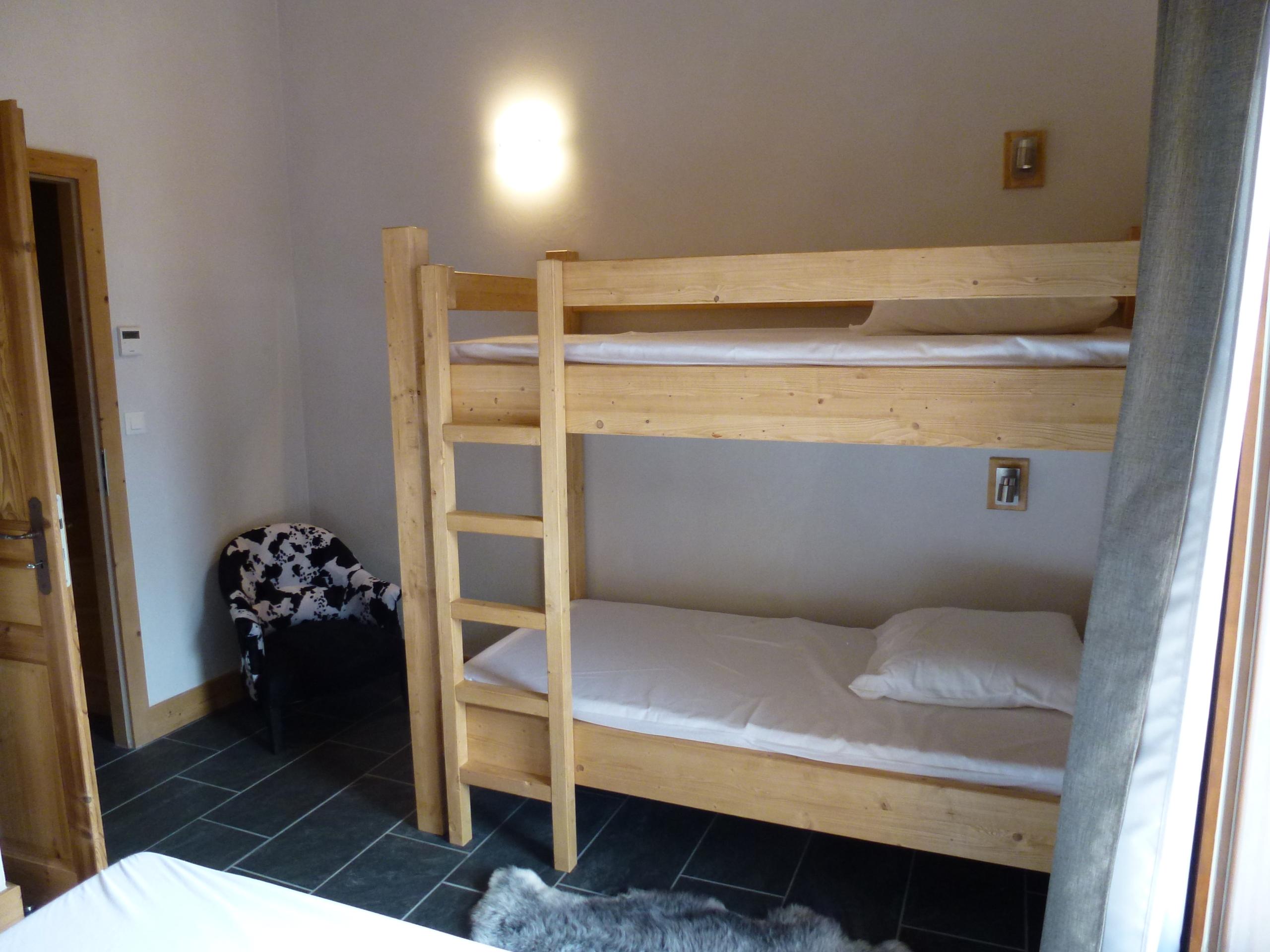 CriE08 - Chambre double avec lit superposés