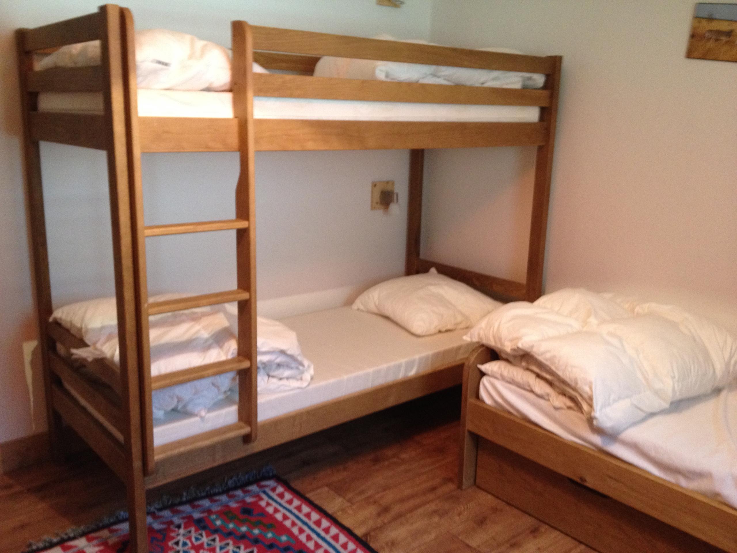 ED07 - Chambre lits superposés