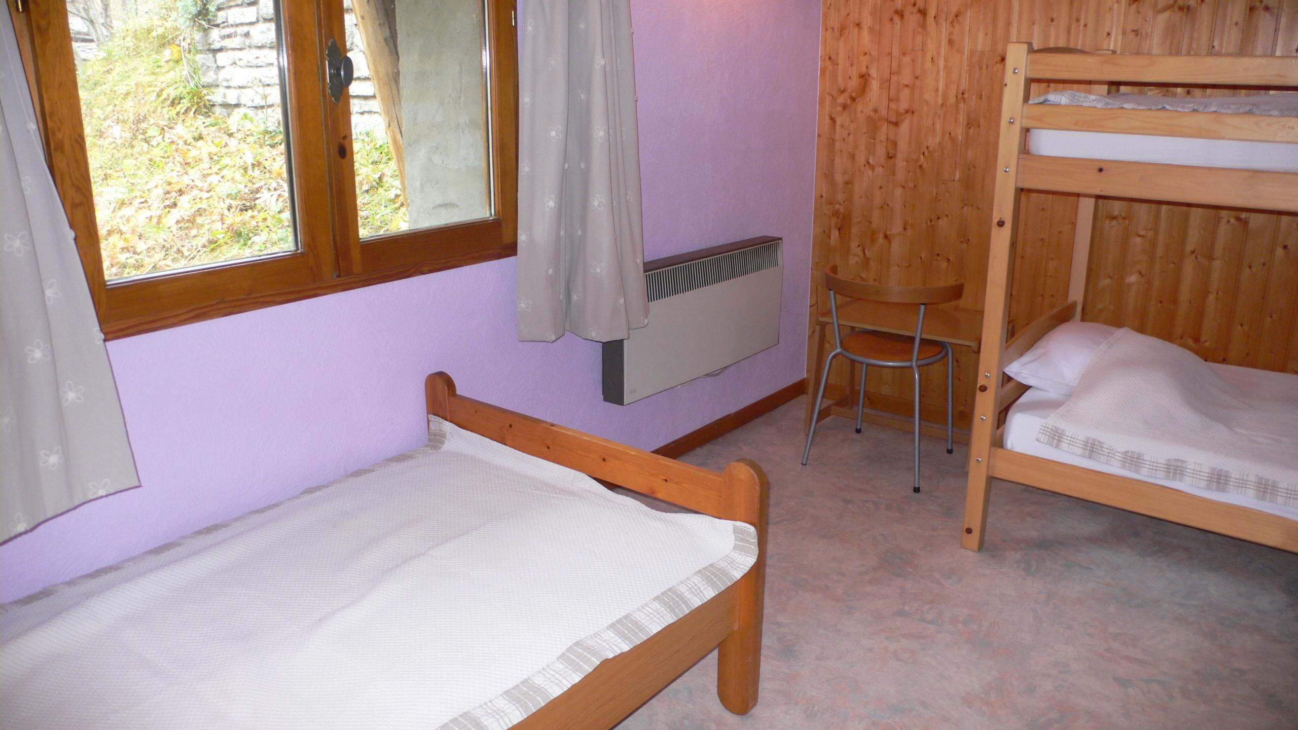 Benna1 - Chambre lits superposés